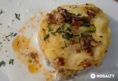Mashed Potatoes, Dishes, Breakfast, Ethnic Recipes, Food, Hungarian Recipes, Onion, Whipped Potatoes, Breakfast Cafe