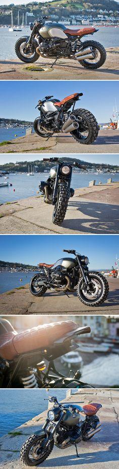 Kevils BMW R nineT Scrambler - Farklı Motor Çeşitleri Bmw R Ninet Scrambler, Motos Bmw, Cafe Racer Motorcycle, Moto Bike, Cool Motorcycles, Motorcycle Design, Bike Design, Custom Bmw, Custom Bikes