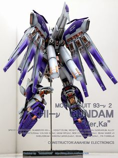MG 1/100 Hi-Nu Gundam Ver. Ka 'Open Hatch' - Customized Build