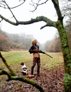 Girls, Guns and Springers….perfect
