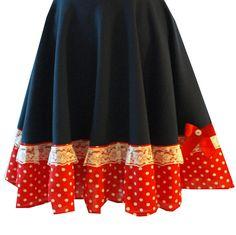 S/M/L Skirt handmade unique items Etsy Shop Black Cherrys