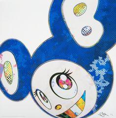 Takashi Murakami, And Then (A Deep Ocean Of Ultramarine), 2013, Julien's Auctions: Street Art Now June 2016