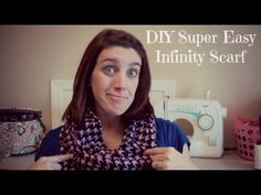This is a super easy infinity scarf tutorial on how I make all my scarves that I sell on Etsy and give to me friends/family. Baby Name Reveal, Infinity Scarf Tutorial, How To Make Scarf, Fleece Scarf, Sell On Etsy, Super Easy, Scarves, Make It Yourself, Youtube