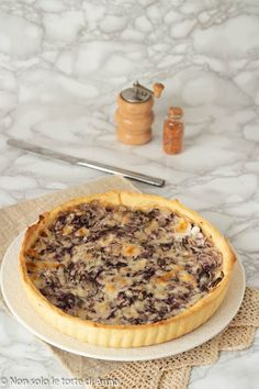 Quiche, Good Food, Yummy Food, Savory Tart, Salty Cake, Muffins, Italian Cooking, Pizza, Antipasto