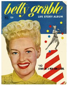 Love Betty's (iconic) hair here. #vintage #actress #hair #hairstyle #1940s