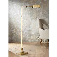 621 best floor lamps images on pinterest floor lamps floor jenson aged brass pharmacy floor lamp style 1k779 aloadofball Gallery