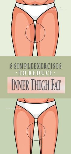 8 Simple Exercises to Lose Inner Thigh Fat Fast