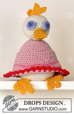 Duck ~ DROPS Design  LOTS LOTS of free pattern men, women, children, home at www.garnstudio.com    Many languages
