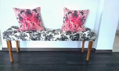 Diy: Diamond tufted bench