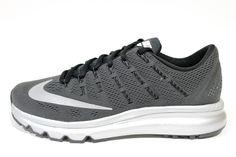 Nike Men's Air Max 2016 PRM Black Reflective/Silver Running Shoes 810885 001