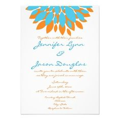 1000 Images About Turquoise And Orange Wedding On