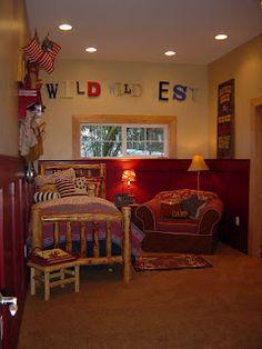 Wild, Wild West room...