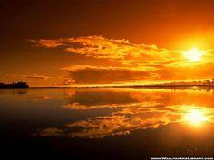 احلى واجمل صور خلفيات مناظر غروب الشمس على شاطئ البحر ~ مدونة إبداع الجزائرية