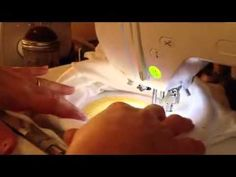 How to Applique a Shirt on a Brother PE770 Embroidery Machine. use No Show Fusible Stabilizer