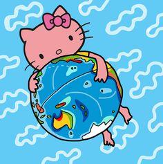 Colección Hello Kitty by Mariscal Colaboración con Sanrio para crear nuestra propia visión de Hello Kitty. Se realizaron piezas de merchandising y se diseñó un calendario apartir de las ilustraciones.