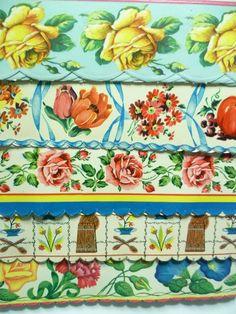 Vintage Shelf Paper designs