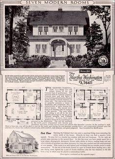 Sears Roebuck Kit Houses, 1923 - Retronaut