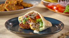These fried vegetarian patties can be served in salads or pita sandwiches.