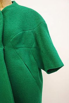 Coat Designer: Charles James (American, born Great Britain, 1906–1978) Date: 1961 Culture: American Medium: wool Dimensions: Length at CB: 50 1/2 in. (128.3 cm)ch