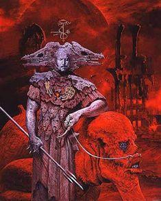 """Grupo de """"ministros"""" do inferno, cada qual com poderes específicos, dados aos humanos através de pactos. Palavra que, na Grécia, significava """"porta do inferno""""."""