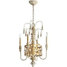 Found it at Wayfair - Leduc 4 Light Candle Chandelier