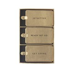2 Set PU Leather Travel Luggage Tags Tea Cups And Clocks Luggage Tag Label Bags Case