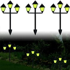 """Set of 3 Glow-in-the-Dark Classic Lamp Style Luminaries by Trademark. $20.84. Set of 3 Glow-in-the-Dark Classic Lamp Style Luminaries. Set of 3 Glow-in-the-Dark Classic Lamp Style Luminaries - Illuminate your flower beds or mark your walkways with the Glow-in-the-Dark Classic Lamp Style Luminaries by Trademark Home Collectionâ""""¢. Three plastic luminaries allow you to configure your path markers where you want them by simply staking them into the ground. High..."""