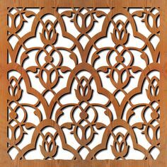 scroll saw design template moroccan - Google Search