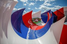 Visitors in a rubber boat try out the new family water slide at the Aqualand Moravia World of Water leisure park in Pasohlávky, south of Brno, Czech Republic, on June 30, 2020.  - The Atlantic Water Parks, June 30, Water Slides, Photos Of The Week, Czech Republic, Swimming, Boat, Lights, Swim