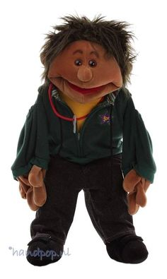 handpop Karlos - Handpoppen.nl Living Puppets, Hoodies, Style, Swag, Sweatshirts, Parka, Hoodie, Hooded Sweatshirts, Outfits