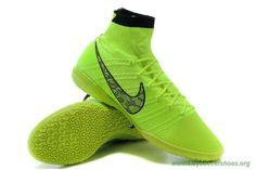 Futsal Shoes Mens VOLT-BLACK Indoor NIKE ELASTICO Superfly