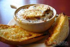 Receita de Sopa de cebola à francesa em receitas de sopas e caldos, veja essa e outras receitas aqui!