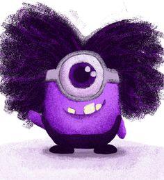 Purple Minion Baby // Miñon morado bebé Minion Baby, My Minion, Minion Stuff, Funny Minion, Evil Minions, Minions Despicable Me, Minions Funny Images, Minions Quotes, Purple Baby