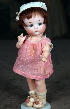 """SOLD~Fired Bisque Just ME ~ 10"""" AM 310 SOLD #dollshopsunited"""