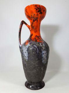 Dutch Vest Gouda fat lava vase