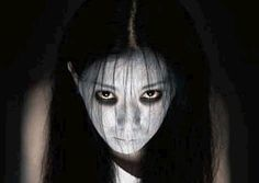 This year I'm going to be the Grudge for Halloween. It's official.