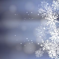 Magic free vector christmas background design with transparent snowflakes.. More Free Vector Graphics, www.123freevectors.com