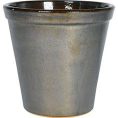 Storm Glazed Plant Pot - 36cm