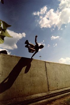 Did some Parkour while in college. Back in 2003 not many people knew about it. Had a great time. It was a good workout.