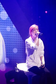 Taeyeon at TTS Holler showcase rehearsal