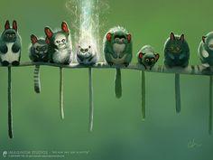Inspiring Illustrations by Bobby Chiu