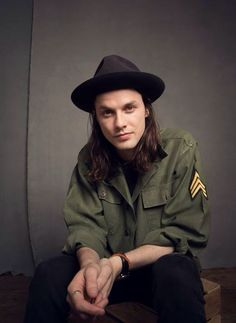 James Bay in an Army Jacket :D