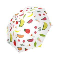 Vegan Goodies  Pattern Foldable Umbrella