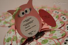60 owl first birthday invitations