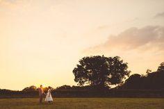 Wide Angle Golden Hour - Creative Wedding Photography Portfolio | Babb Photo