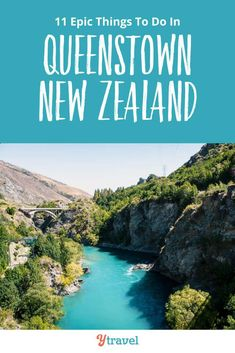Planning to visit New Zealand? Make sure you visit Queenstown. Here are 11 of the best things to do in Queenstown New Zealand including tips on hotels and information on flights and rental cars. See inside why Queenstown needs to be on your New Zealand itinerary, with tips and ideas for exploring downtown, restaurants and places to eat local food, best scenic views, and more ideas for your bucket lists! #Queenstown #NewZealand #travel #newzealandtravel #vacation #adventuretravel #familytravel