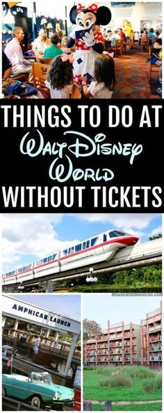 Can you visit Walt Disney World and NOT go to the parks? Of course you can! We've got a great list of 10 things you can do outside the parks and still have a magical vacation! Check out our list of 10 things to do at Disney without tickets!