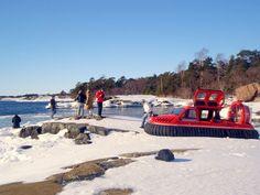 Sommaröstrand, Ilmatyynysafarit Talvielämysretket #Finland