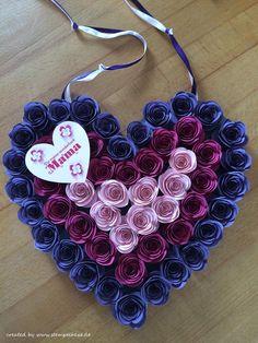 Maiherzen rosen selber machen