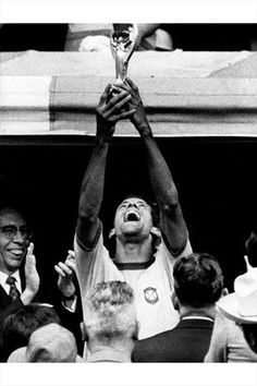 World Cup winners Brazil 1970